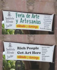 Translated Sign