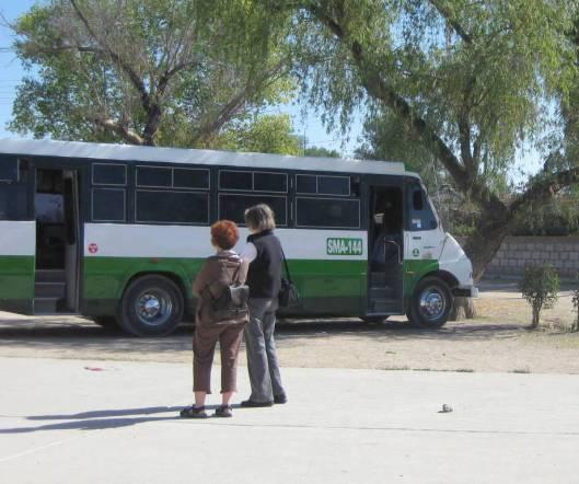 Bus hijink