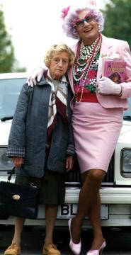 dame edna and madge