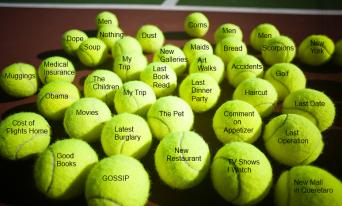 tennis ball sayings